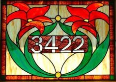 Custom Stained Glass Window Transom | Glass Fusion Studios of Vermont. This would definitely be something I would want on our front door.