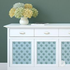 Nautical Beach Decor - Shell Pattern Furniture Stencils - Royal Design Studio