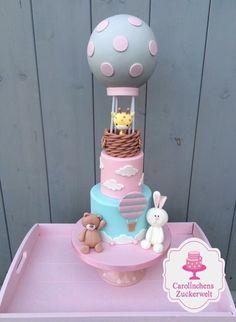 Fondant Balloon Cake