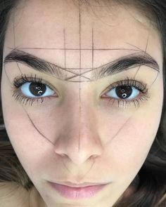 - (notitle) - microblading - (no Eyebrow Makeup Tips, Permanent Makeup Eyebrows, Beauty Makeup, Face Makeup, Mircoblading Eyebrows, Eyeliner, Eyebrow Design, Henna Brows, Perfect Brows