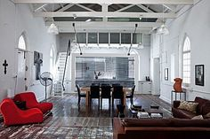 A South African Church Loft