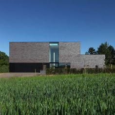 Дом Тиммерманс-Вендеринк (Timmermans-Venderink House) в Бельгии от Egide Meertens Architecten.