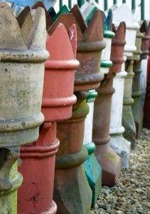 Crown Top Chimney Pots £55