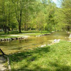 Sourse of river Bosnia, Ilidža, Sarajevo Bosnia, Golf Courses, Country Roads, River, Natural, Rivers, Nature, Au Natural