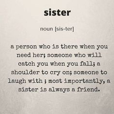 I love my sister! Sister Bond Quotes, Sister Meme, Sister Birthday Quotes, Birthday Wishes, Happy Birthday, Little Sister Quotes, 21 Birthday, Birthday Memes, Birthday Recipes