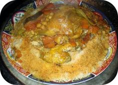 Tunisian Chicken Couscous ~ Just for you