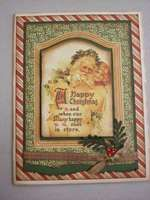 Project Ideas for Graphic 45 - Christmas Past Collection - 12 x 12 Die Cuts - Frames, gf-4500143