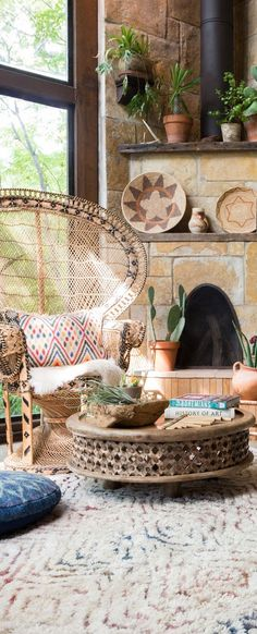 6 Bohemian living rooms that will make you dream (Daily Dream ...