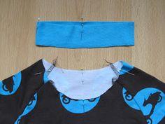 Käsityön riemua: Pääntien kanttausohje Handicraft, Diy Clothes, Sewing Crafts, Two Piece Skirt Set, Crop Tops, Knitting, Crochet, Knits, Dresses