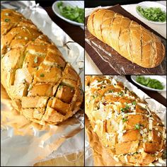 Stuffed Italian Crack Bread Stuffed Italian Bread is like onion-garlic bread on crack. Highly snackable, highly addictive, you find yourself unable to stop pulling those cheesy bread pieces and licking your fingers good after devouring each piece. Crack Bread, Cheesy Bread Recipe, Italian Bread Recipes, Pan Relleno, Appetizer Recipes, Appetizers, Sandwiches, Food And Drink, Cooking Recipes
