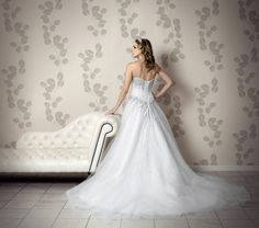Minerva Wedding Dress (Back) – Amanda Wyatt Classical Elegance 2012 Collection