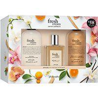 Philosophy Fresh Cream Warm Cashmere Set Philosophy Fresh Cream Skin Care Gifts Fresh Cream