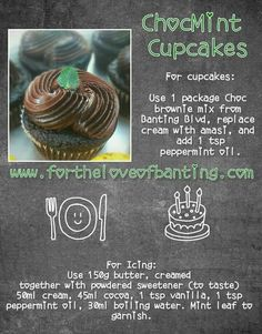 Banting Recipes, Keto Snacks, Low Carb Keto, Chocolate Chips, Peppermint, Cocoa, Icing, Desserts, Mint
