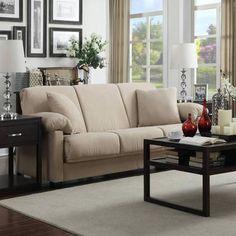 Montero Microfiber Convert-a-Couch Sofa Sleeper Bed, Multiple Colors - Walmart.com