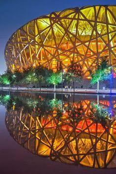 Amazing Snaps: Bird's Nest Stadium – Beijing China -