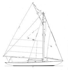 25' Dark Harbor 17 1/2 Designer: B.B. Crowninshield Skill Level to Build…