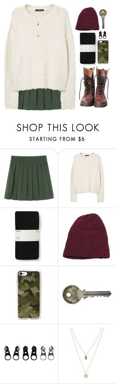 """""""*Don't be shy*"""" by my-black-wings ❤ liked on Polyvore featuring MANGO, Dr. Martens, Gap, Casetify, Full Tilt and ASOS"""