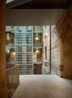 Restoration of the Bakery of Caserma Santa Marta into university facilities, Verona, 2014 - Carmassi Studio di Architettura