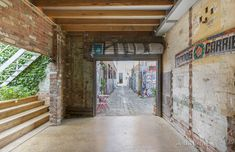 Vast Melbourne warehouse conversion heads to the auction block - The Spaces Car Part Furniture, Automotive Furniture, Automotive Decor, Property Prices, Investment Property, Williams Street, Warehouse Conversion, Basement Windows, King William