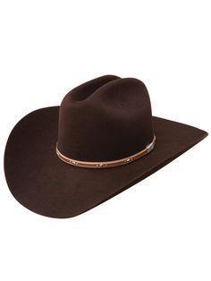 Mens Resistol Kingman Cowboy Hat RFKGMN-524022 - Texas Boot Company is located in Bastrop, Texas. www.texasbootcompany.com Resistol Hats, Texas Cowboy Boots, Liberty Boots, Felt Cowboy Hats, Kentucky Derby Hats, Leather Hats, Kids Boots, Boot Shop, Classic Leather