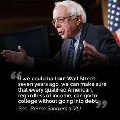 Bailout Wall Street vs ordinary Americans
