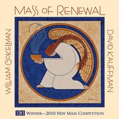 "Mass of Renewal $5 - All Mass parts prayerfully brought to life by an SATB choir. Simple piano and guitar accompaniment allows you to focus on choral parts. Choir directors collaborated with our product development team to ensure we offer what you need and want; accessibility, adaptability and affordability. All Mass of Renewal products are adorned with ""Kneeling Angel."" This beautiful image was created exclusively for this Mass by Catholic artist G.E. Mullan. #music"