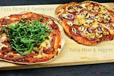 Weet je dat zelf je eigen pizza maken echt zo ontzettend veel lekkerder is dan een diepvriespizza!