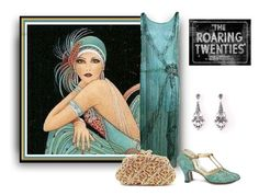 """Roaring 20's"" by sjlew ❤ liked on Polyvore"