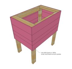 Ana White | Build a Pallet Cooler Stand | Free and Easy DIY Project and Furniture Plans
