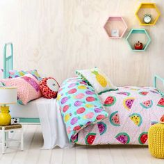 Fresh and fruity kids bedding - 10 Fun and Loony Kids Bed Linen | Tinyme Blog