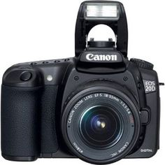 Canon EOS 20D 8.2MP Digital SLR Camera with EF-S 18-55mm f/3.5-5.6 Lens (Electronics)