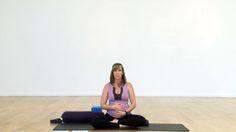 """45 min """"Prepare for Birth"""" yoga class on Yogaglo.com"""