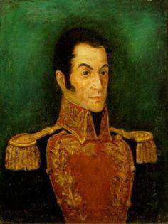 Retrato de Simón Bolivar by Carlos Otero