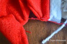 Aprenda a fazer um papai noel segura cortina muito fofo para decorar cada cantinho de sua casa. Molde e passo a passo, confira!