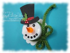my version of Frosty by SandiMac - Cards and Paper Crafts at Splitcoaststampers