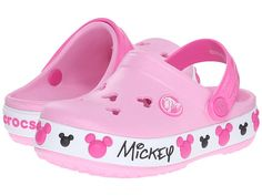 bf1379901 Crocs Kids Crocband Mickey IV Clog (Toddler Little Kid) Kid Shoes
