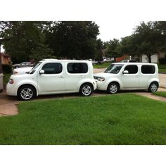 Our family loves the Nissan Cube!