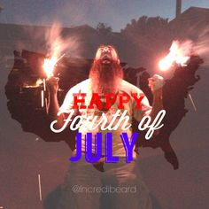 Happy 4th of July! All-American Beard!