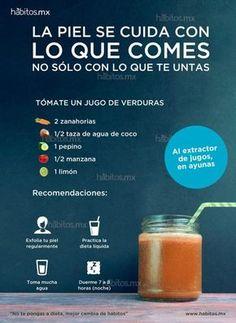Jugos saludables Vegan Coleslaw vegan coleslaw recipe no mayo Healthy Juices, Healthy Smoothies, Healthy Drinks, Healthy Tips, Healthy Recipes, Diet Drinks, Chocolate Slim, Bebidas Detox, Juicing For Health