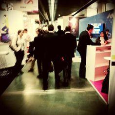 En direct du salon e-marketing Paris #emp2013 #thesocialbureau