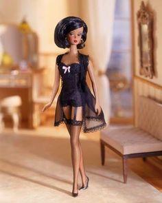 Fashion Model Silkstone Barbie, Lingerie #5, Mattel, 2002