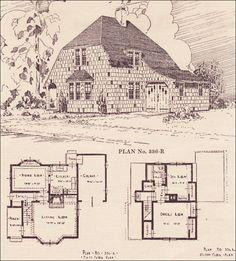 Vintage House Plans On Pinterest Home Building Plans