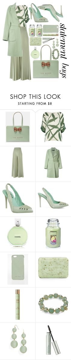"""Mint bag"" by puljarevic ❤ liked on Polyvore featuring Ted Baker, Phase Eight, Givenchy, Rochas, Puma, Chanel, Yankee Candle, Rick Owens, Pré de Provence and BEA"