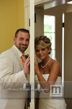 Wedding | Bride and Groom | Door | Monica Wilson Photography | Staunton Virginia | 540-430-1010 | www.monicawilsonphotography.com