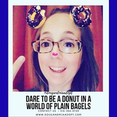 Dare to be a donut in a world of bagels. #donuts #treatyourself #motivationalquotes #quotestagram  http://ift.tt/2sDYDKb Call/Text: 516-366-0720  #dougandmiaadopt #hopefulparents #hopefuladoptiveparents #adoption #adoptionrocks #adoptionready #adoptioncertified #homestudyapproved #adoptionislove