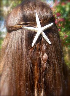 Starfish Hair Barrette Starfish Hair Clip-Skinny Starfish