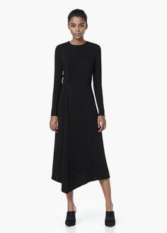 Premium - wraped detail dress | MANGO