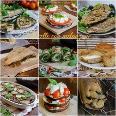 ricette con melanzane antipasti primi secondi contorno ricette sfiziose vegetariane gustose