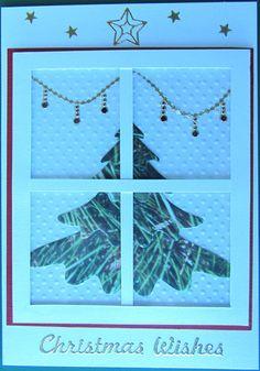Window card made in a Cardonnay class.