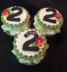 2nd birthday cupcakes